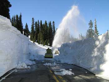Chinook Pass Snow Removal